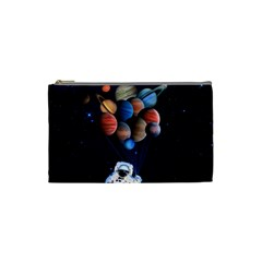 Planets  Cosmetic Bag (small)  by Valentinaart