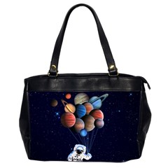 Planets  Office Handbags (2 Sides)  by Valentinaart
