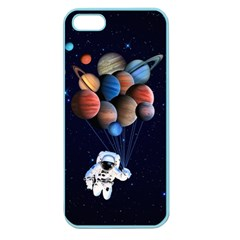 Planets  Apple Seamless Iphone 5 Case (color) by Valentinaart