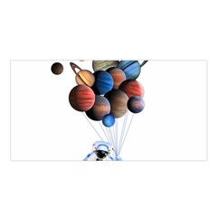 Planets  Satin Shawl by Valentinaart