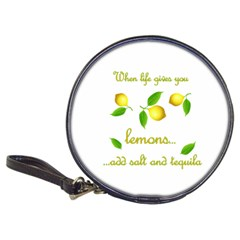 When Life Gives You Lemons Classic 20 Cd Wallets by Valentinaart