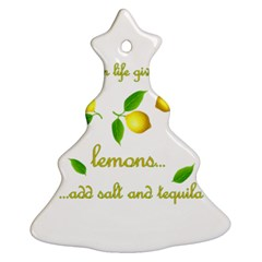 When Life Gives You Lemons Ornament (christmas Tree)  by Valentinaart