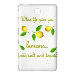 When Life Gives You Lemons Samsung Galaxy Tab 4 (8 ) Hardshell Case  by Valentinaart