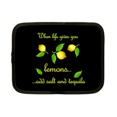 When Life Gives You Lemons Netbook Case (small)  by Valentinaart