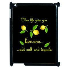When Life Gives You Lemons Apple Ipad 2 Case (black) by Valentinaart