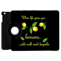 When Life Gives You Lemons Apple Ipad Mini Flip 360 Case by Valentinaart