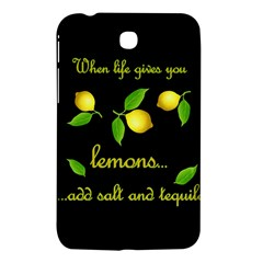 When Life Gives You Lemons Samsung Galaxy Tab 3 (7 ) P3200 Hardshell Case  by Valentinaart