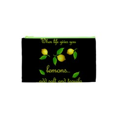 When Life Gives You Lemons Cosmetic Bag (xs) by Valentinaart