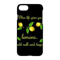 When Life Gives You Lemons Apple Iphone 7 Hardshell Case by Valentinaart