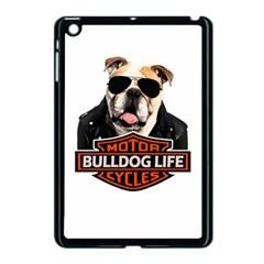 Bulldog Biker Apple Ipad Mini Case (black) by Valentinaart