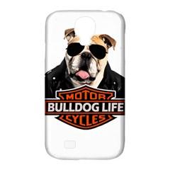 Bulldog Biker Samsung Galaxy S4 Classic Hardshell Case (pc+silicone) by Valentinaart
