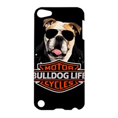 Bulldog Biker Apple Ipod Touch 5 Hardshell Case by Valentinaart