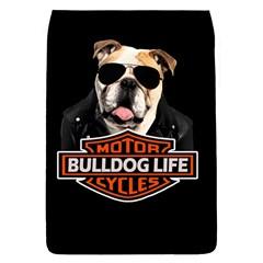 Bulldog Biker Flap Covers (s)  by Valentinaart
