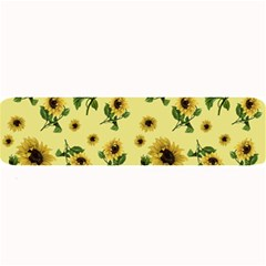 Sunflowers Pattern Large Bar Mats by Valentinaart
