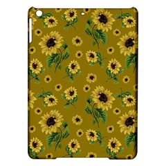 Sunflowers Pattern Ipad Air Hardshell Cases by Valentinaart