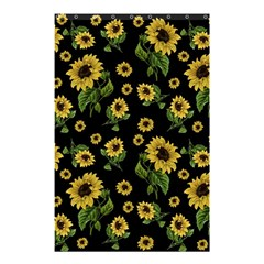 Sunflowers Pattern Shower Curtain 48  X 72  (small)  by Valentinaart