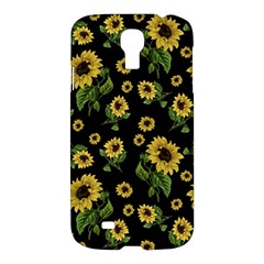 Sunflowers Pattern Samsung Galaxy S4 I9500/i9505 Hardshell Case by Valentinaart