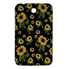 Sunflowers Pattern Samsung Galaxy Tab 3 (7 ) P3200 Hardshell Case  by Valentinaart