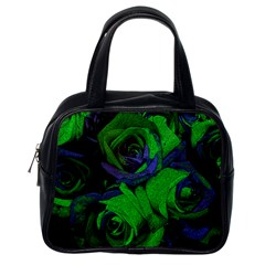 Roses Vi Classic Handbags (one Side) by markiart