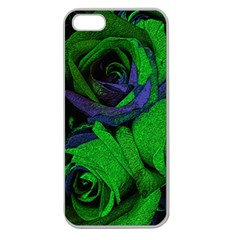 Roses Vi Apple Seamless Iphone 5 Case (clear) by markiart