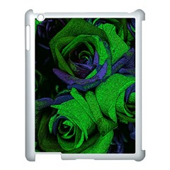 Roses Vi Apple Ipad 3/4 Case (white) by markiart