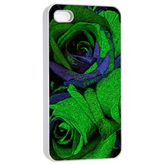 Roses Vi Apple Iphone 4/4s Seamless Case (white) by markiart