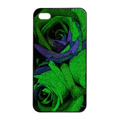 Roses Vi Apple Iphone 4/4s Seamless Case (black) by markiart