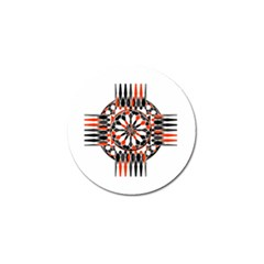 Geometric Celtic Cross Golf Ball Marker (10 Pack) by linceazul