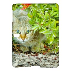 Hidden Domestic Cat With Alert Expression Samsung Galaxy Tab S (10 5 ) Hardshell Case  by dflcprints