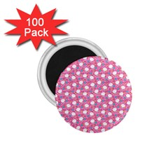 Cute Cats Iii 1 75  Magnets (100 Pack)  by tarastyle
