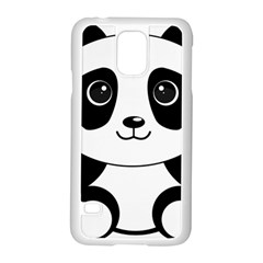 Bear Panda Bear Panda Animals Samsung Galaxy S5 Case (white) by Nexatart