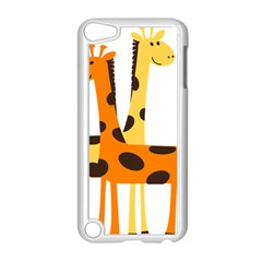 Giraffe Africa Safari Wildlife Apple Ipod Touch 5 Case (white) by Nexatart