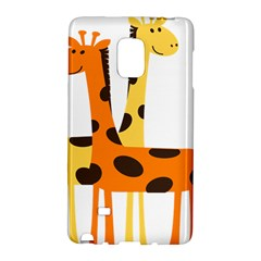 Giraffe Africa Safari Wildlife Galaxy Note Edge by Nexatart