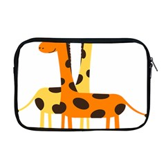 Giraffe Africa Safari Wildlife Apple Macbook Pro 17  Zipper Case by Nexatart