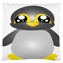 Cute Penguin Animal Standard Flano Cushion Case (two Sides) by Nexatart