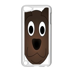 Dog Pup Animal Canine Brown Pet Apple Ipod Touch 5 Case (white) by Nexatart