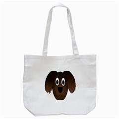 Dog Pup Animal Canine Brown Pet Tote Bag (white) by Nexatart