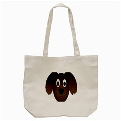 Dog Pup Animal Canine Brown Pet Tote Bag (cream) by Nexatart