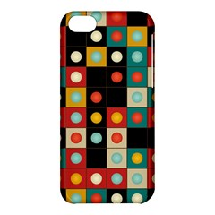 Colors On Black Apple Iphone 5c Hardshell Case by linceazul