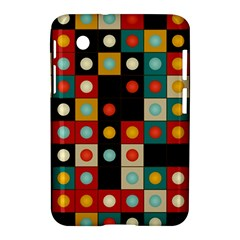 Colors On Black Samsung Galaxy Tab 2 (7 ) P3100 Hardshell Case  by linceazul