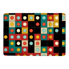 Colors On Black Samsung Galaxy Tab Pro 10 1  Flip Case by linceazul