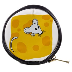 Rat Mouse Cheese Animal Mammal Mini Makeup Bags by Nexatart