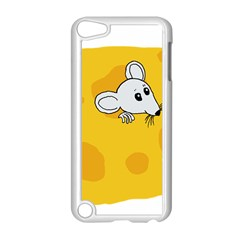 Rat Mouse Cheese Animal Mammal Apple Ipod Touch 5 Case (white) by Nexatart