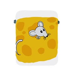 Rat Mouse Cheese Animal Mammal Apple Ipad 2/3/4 Protective Soft Cases by Nexatart
