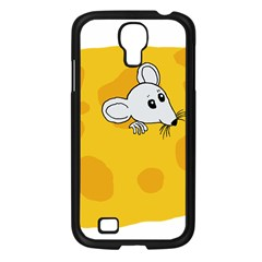 Rat Mouse Cheese Animal Mammal Samsung Galaxy S4 I9500/ I9505 Case (black) by Nexatart