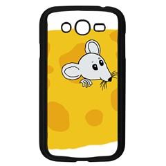 Rat Mouse Cheese Animal Mammal Samsung Galaxy Grand Duos I9082 Case (black) by Nexatart
