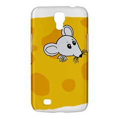 Rat Mouse Cheese Animal Mammal Samsung Galaxy Mega 6 3  I9200 Hardshell Case by Nexatart