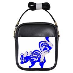 Skunk Animal Still From Girls Sling Bags by Nexatart