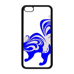Skunk Animal Still From Apple Iphone 5c Seamless Case (black) by Nexatart