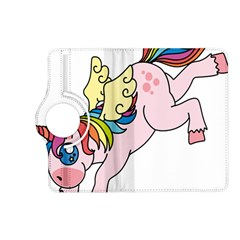 Unicorn Arociris Raimbow Magic Kindle Fire Hd (2013) Flip 360 Case by Nexatart